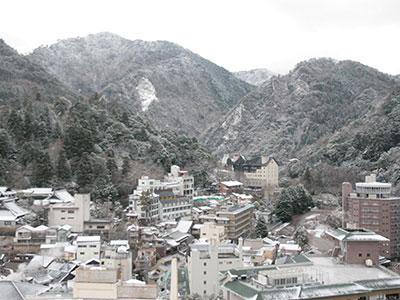 有馬温泉 兵衛向陽閣-20160207雪景色1.jpg