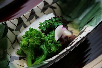 明石蛸柔煮 菜の花.jpg
