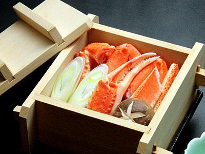 旬の味『蟹酢』