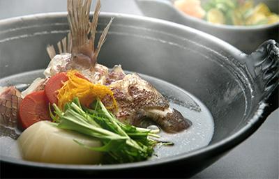 旬の味 『鯛蕪鍋』