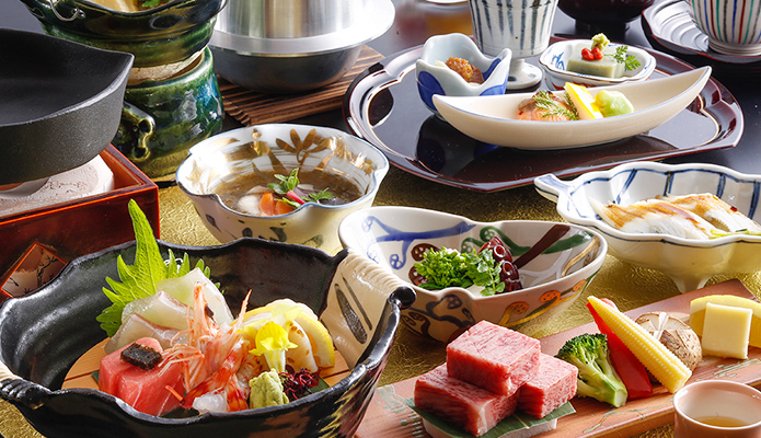 Hyoe's seasonal Kaiseki-Japanese multi-course menu