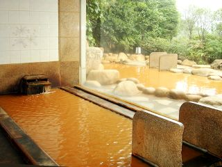 Ichi no Yu, indoor & outdoor hot spring baths