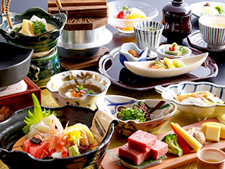 Kaiseki-Japanese multi-course dinner