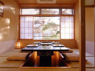 Private room at Ajisai Restaurant