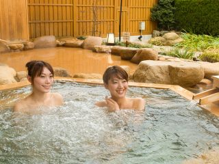 San no Yu, women bath, hot tub
